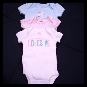 Set of 3 body suits